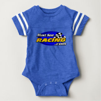 Must See Racing fan Baby Baby Bodysuit