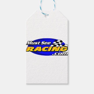 Must See Racing Gift Tags