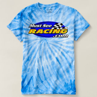 Must See Racing one color tie dye t shirt