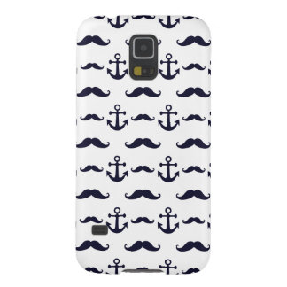 Mustache and anchor galaxy s5 cover