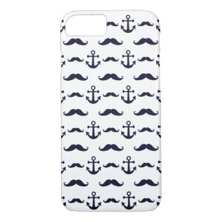Mustache and anchor iPhone 8/7 case