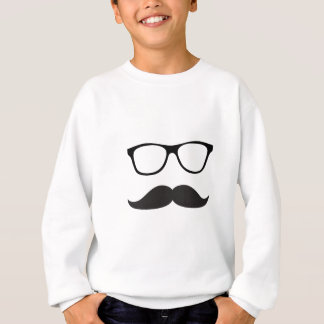 Mustache and Glasses Sweatshirt