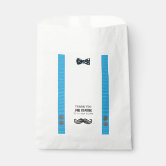 Mustache Bash - Baby Shower - Candy - Favour Bags