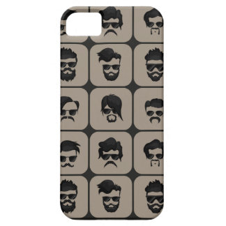 mustache, beard and hairstyle case for the iPhone 5