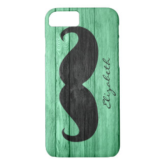 Mustache Custom Monogram #7 iPhone 7 Case