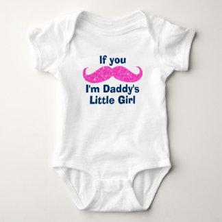 Mustache Daddy's Little Girl Shirt