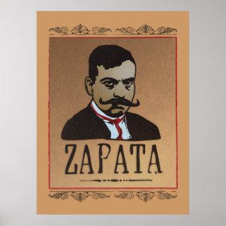 Mustache - Emiliano Zapata Poster