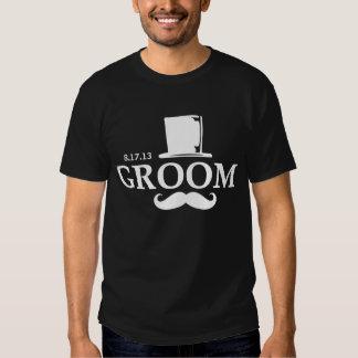 Mustache Groom DK Tee Shirt