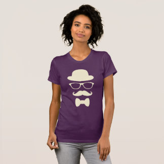 Mustache Hat and Glasses Disguise Shirt