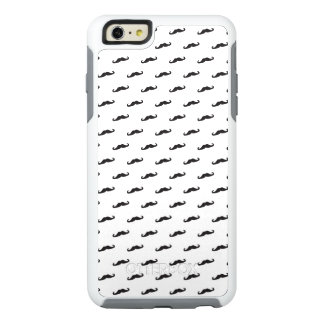 Mustache hipster pattern 2 OtterBox iPhone 6/6s plus case
