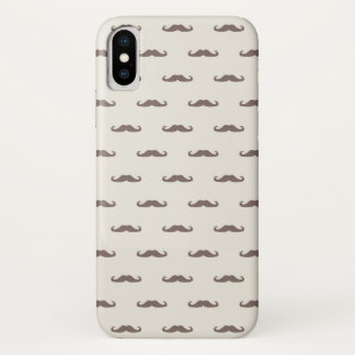 Mustache hipster pattern 3 Case-Mate iPhone case