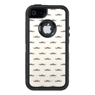 Mustache hipster pattern 3 OtterBox iPhone 5/5s/SE case