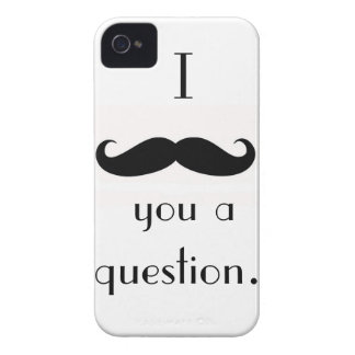Mustache iPhone 4 Case