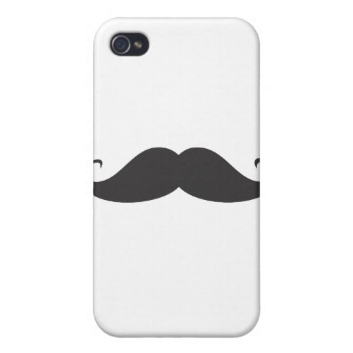 Mustache Cover For iPhone 4