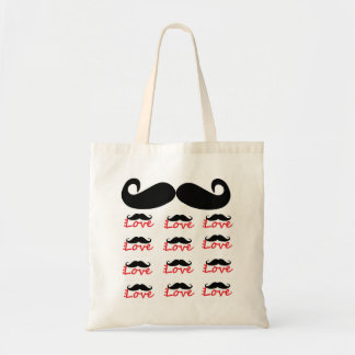 Mustache Love Bag