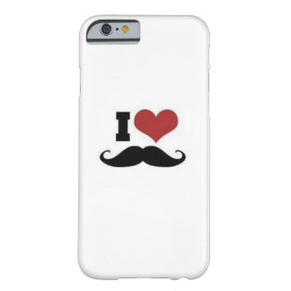 Mustache Lover Barely There iPhone 6 Case