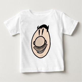 Mustache man baby T-Shirt