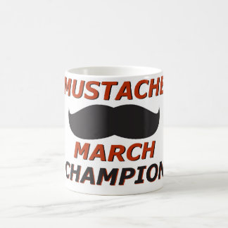 Mustache March champion Coffee Mug