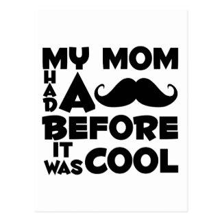 Mustache Mom Postcards