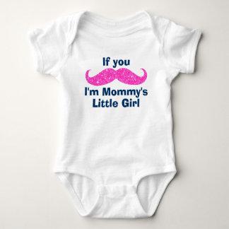 Mustache Mommy's Little Girl Tees
