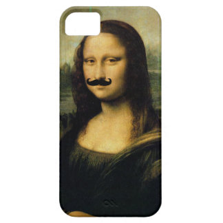 Mustache Mona Lisa Case For The iPhone 5