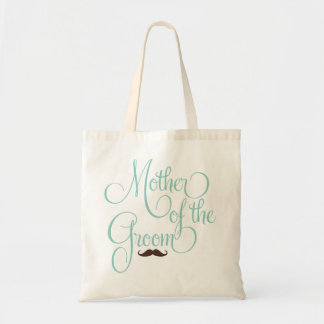 Mustache -Mother of the Groom Tote Bag