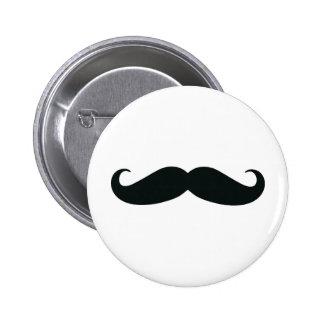 Mustache Mustache Mustache 2 Inch Round Button
