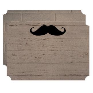 Mustache Party Shower Designer Destiny Destiny's Card