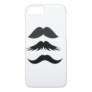 Mustache Party Shower Father Dad Husband Santa iPhone 7 Case