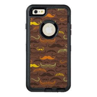Mustache pattern, retro style 5 OtterBox iPhone 6/6s plus case