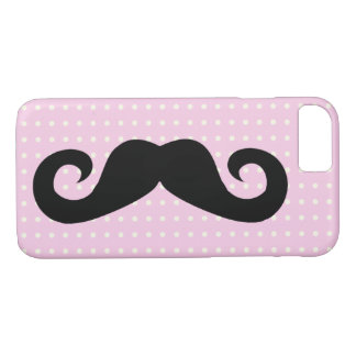 Mustache Pink iPhone 8/7 Case