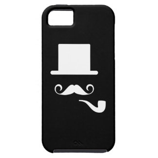 Mustache & Pipe Pictogram iPhone 5 Case