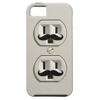 Mustache power outlet iPhone 5 case
