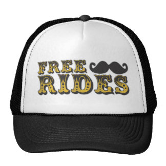 Mustache Ride  Trucker Hat