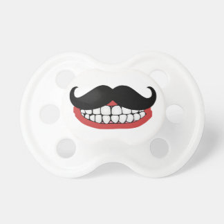 Mustache Smile Pacifier