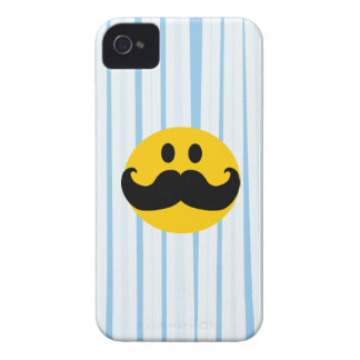 Mustache Smiley iPhone 4 Covers