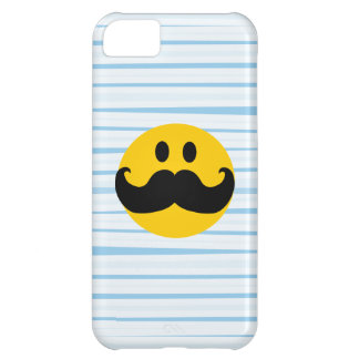 Mustache Smiley iPhone 5C Covers