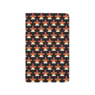 Mustache Sombrero Notebook