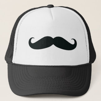 Mustache Stache Trucker Hat