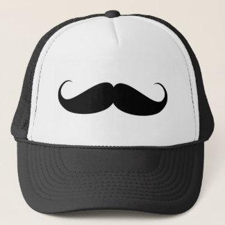 mustache vintage symbol illustration trucker hat