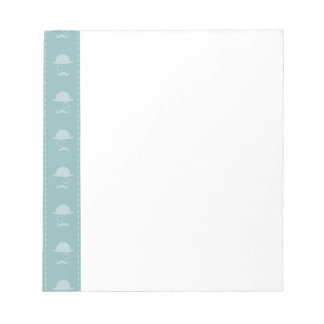 Mustaches and Hats Notepad