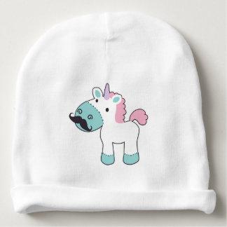 Mustachio Unicornio! Baby Beanie