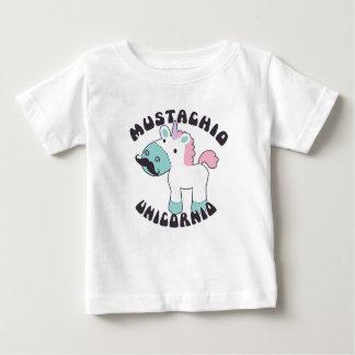 Mustachio Unicornio Baby Shirt