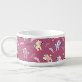 Mustachio Unicornio Bowl