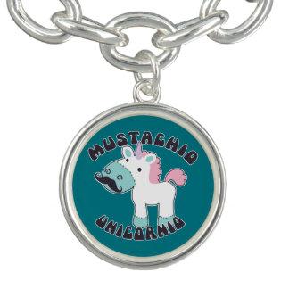 Mustachio Unicornio! Bracelets