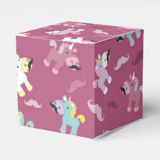 Mustachio Unicornio Favor Box