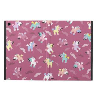 Mustachio Unicornio iPad Air Cover