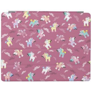 Mustachio Unicornio iPad Cover