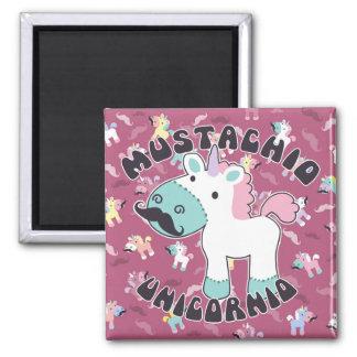 Mustachio Unicornio! Magnet