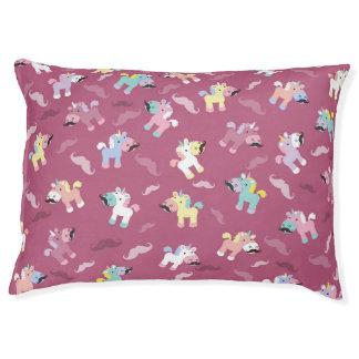Mustachio Unicornio Pet Bed